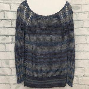 Free People Desert Moon Striped Sweater XS